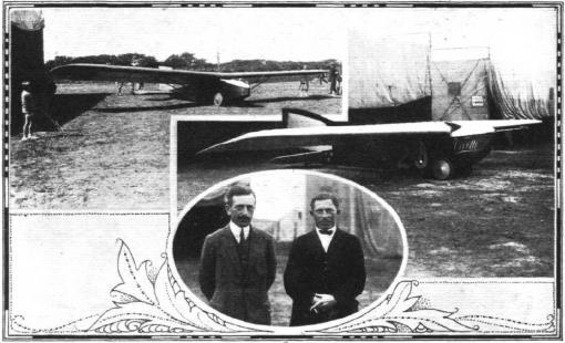 De Poncelet Vivette met rechts Albert Massaux (Vauville, 1925)