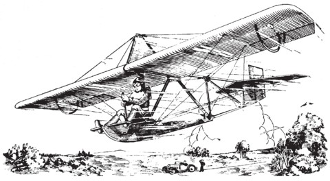 Bron: Building Instructions and Plans for the Northrop Glider, Weston Farmer, 1930 Flying and Glider Manual, pg 53.