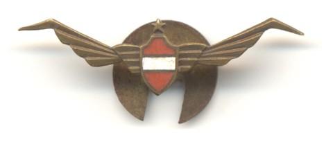 Vandermeulen ontwierp het logo van de club. Hij nam het wapenschild van Leuven, voorzag het van vleugels, en plaatste er een ster bovenop. Het logo verscheen o.a. op de erelidkaarten, en er werden ook speldjes van gemaakt.