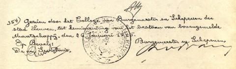 Het erkenningsdossier van De Dijlezwaluw werd ondertekend door burgemeester Remi Van der Vaeren