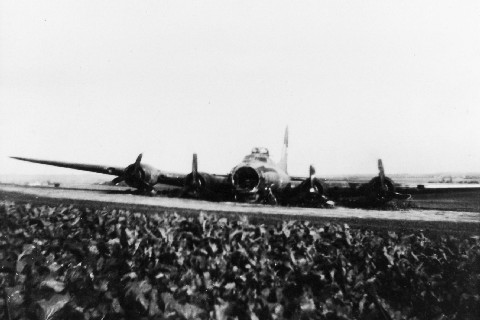 Omdat hun zwever nog in aanbouw was, zochten onze mannen tussendoor andere manieren om hun honger naar luchtvaartervaringen te stillen. Zo gingen ze al eens met de fiets naar de Speelberg in Kortrijk-Dutsel, waar op 17 oktober 1944 een Amerikaanse B-17 bommenwerper (met kenteken L 231550 G genaamd 'Green Hornet 2nd') na een raid op Keulen een noodlanding had gemaakt. Het wrak is daar tot na de oorlog in het veld blijven liggen, en werd een lokale attractie.