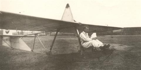 Marcel Sempels op SG-38 in Schaffen. (09.06.1946)