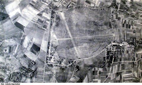 De vliegbasis Beauvechain. (foto: 1948)