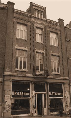 De Brasserie Nationale, clublokaal van De Dijlezwaluw (foto: 2009)