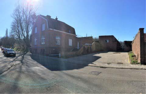 De schietstand aan de Milseweg (oude naam: Zavelstraat), op de hoek van het militair oefenterrein (2021)